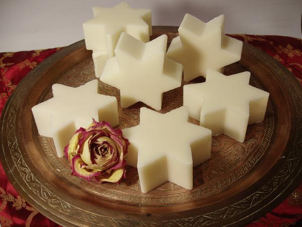 die berühmten Wiener Sterne: sternenförmige Schafmilchseife mit Wiener Duft
