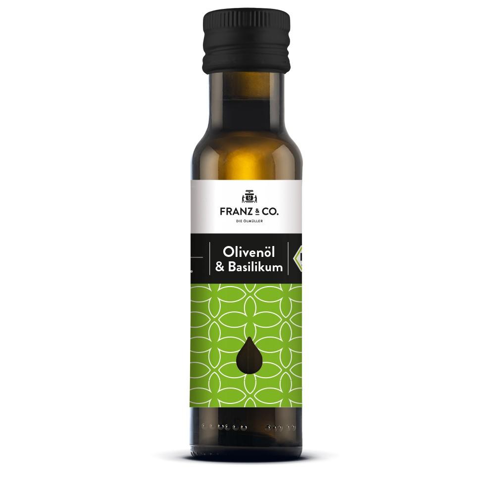BIO Olivenöl & Basilikum 100ml