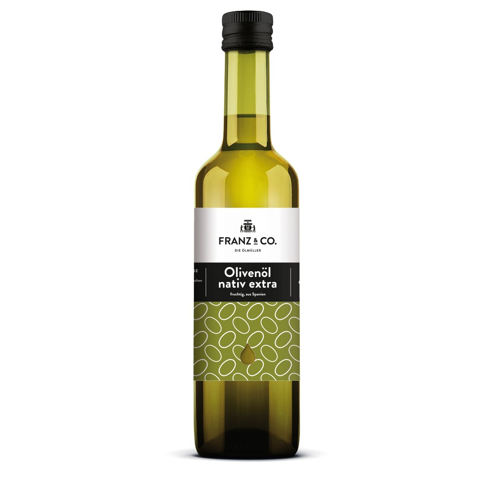 Franz & Co BIO Olivenöl fruchtig, nativ extra 500ml