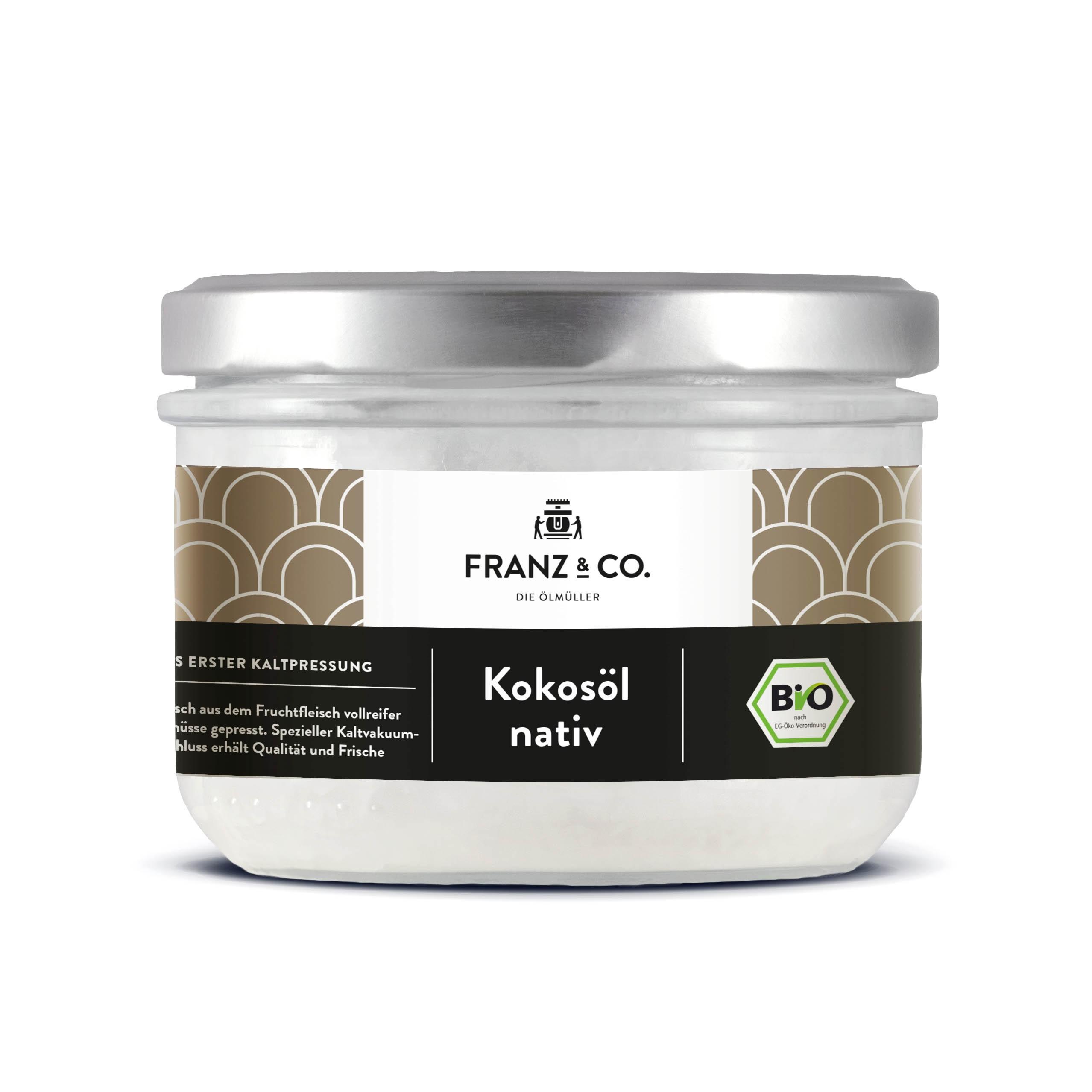 Franz & Co BIO Kokosöl nativ 200ml