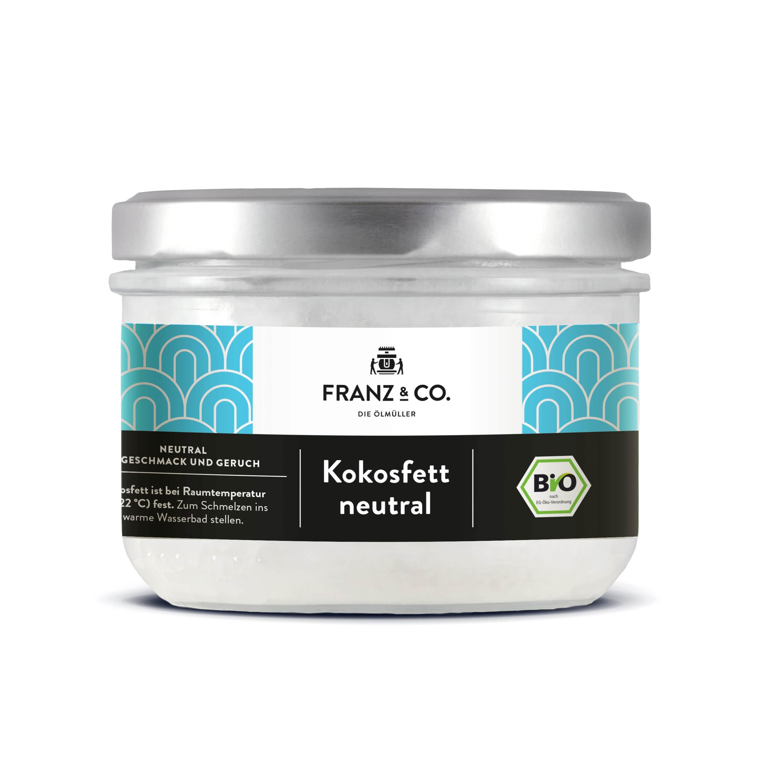 Franz & Co BIO Kokosfett, neutral 200ml