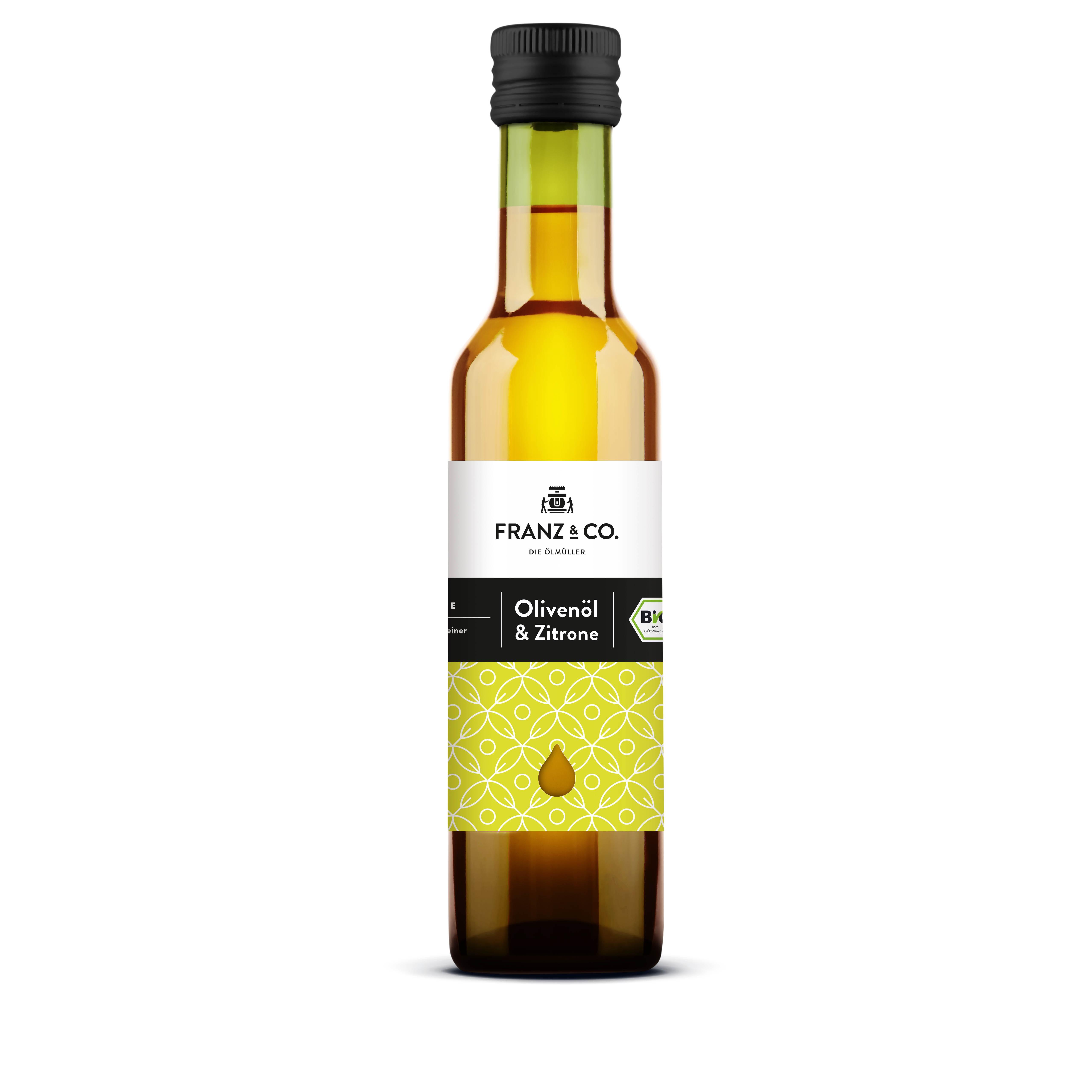 Franz & Co BIO Olivenöl mit Zitrone 250ml