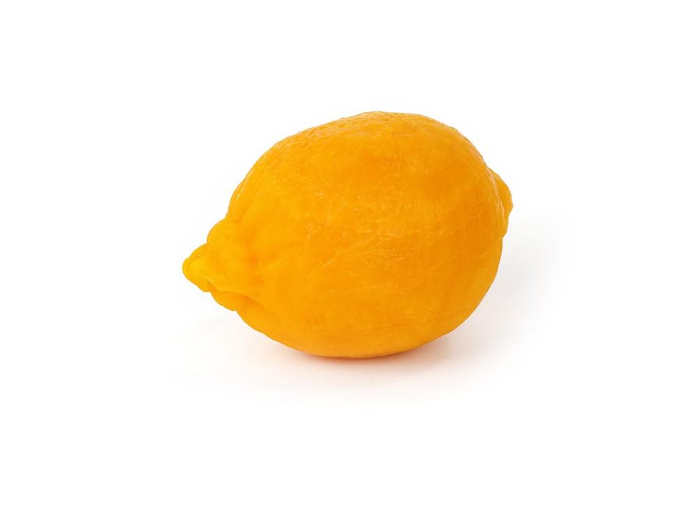 Zitrone richtig groß- alte Meißner Haushaltsseife