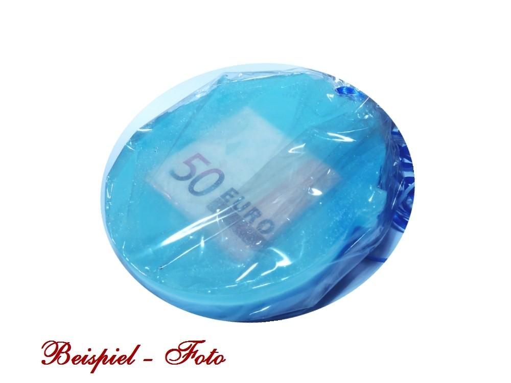 seife-hochzeit-geldgeschenk-blau-weiss-brautpaar-einseifer