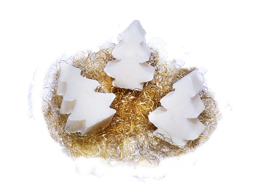 3x Weihnachtsseife Mini - Baum Wiener Duft