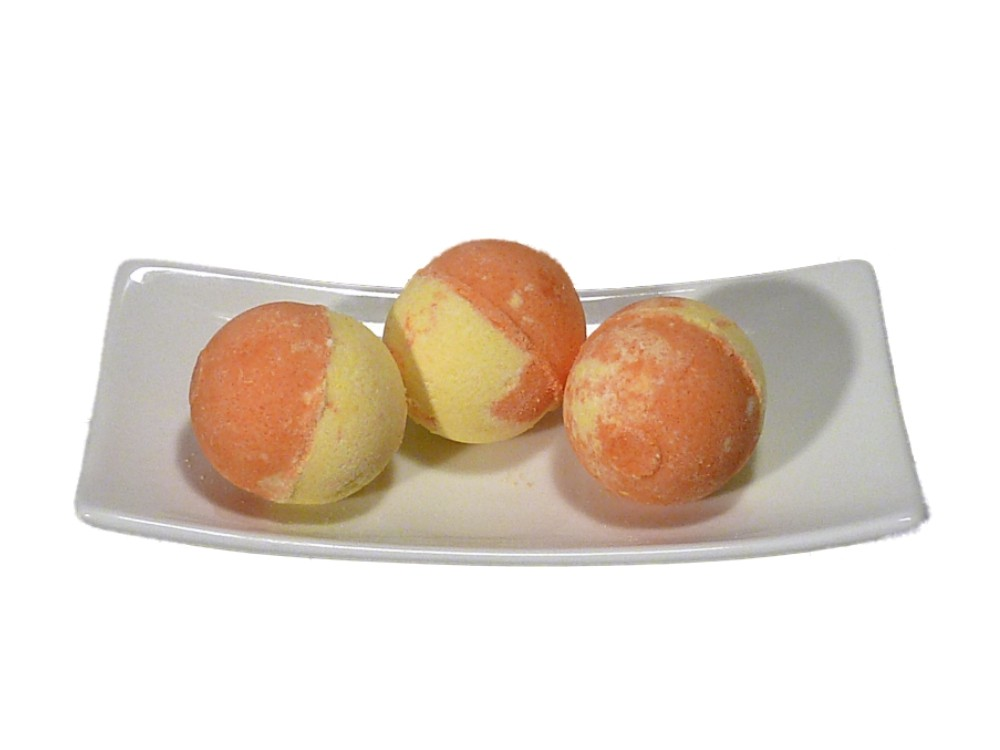 Badepralinen 3er GRAPEFRUIT - ORANGE