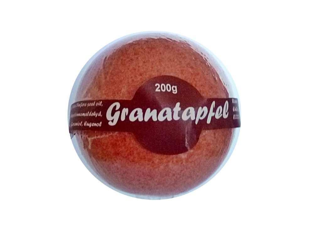 Badekugel Granatapfel