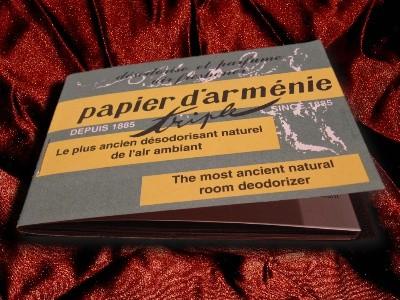 Papier d'Arménie Triple DUFTPAPIER