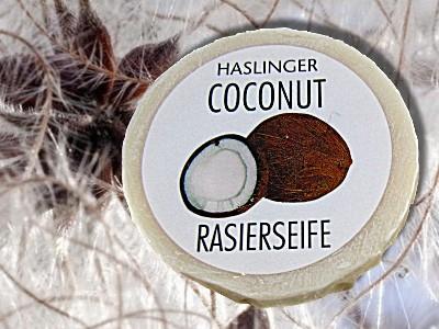 Haslinger Rasierseife Kokos