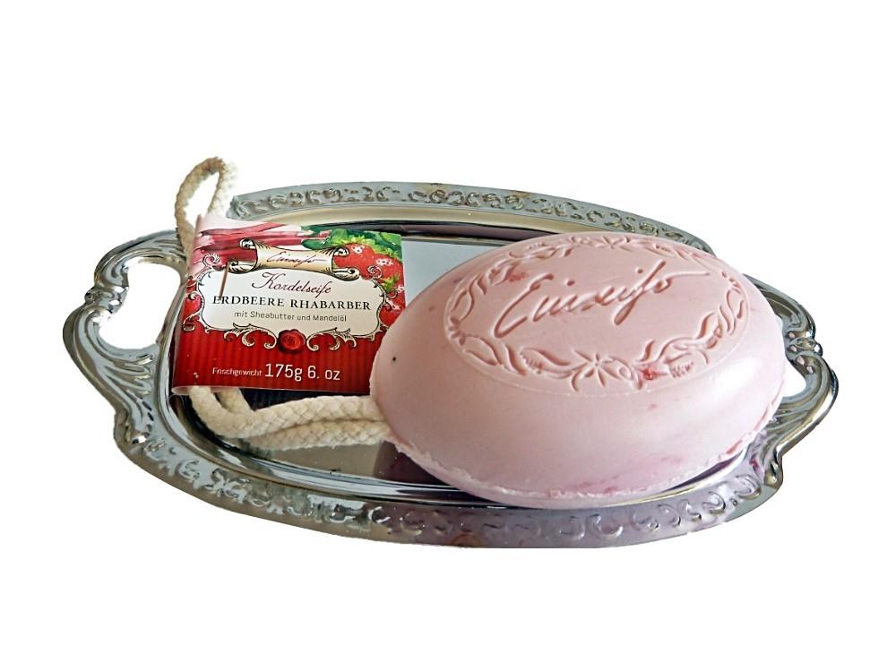 Duschkordel Erdbeer- Rhabarber