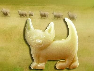 Schafmilchseife  Katze