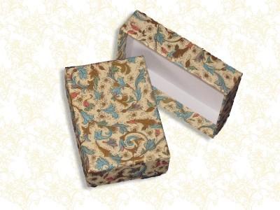kleine Geschenkschachtel aus Karton edel