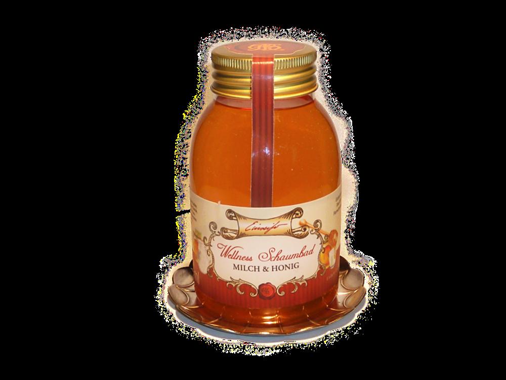 schaumbad milch und honig