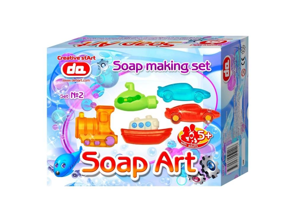 Kinder Seifen - gießen Creativ Set 2 FAHRZEUGE