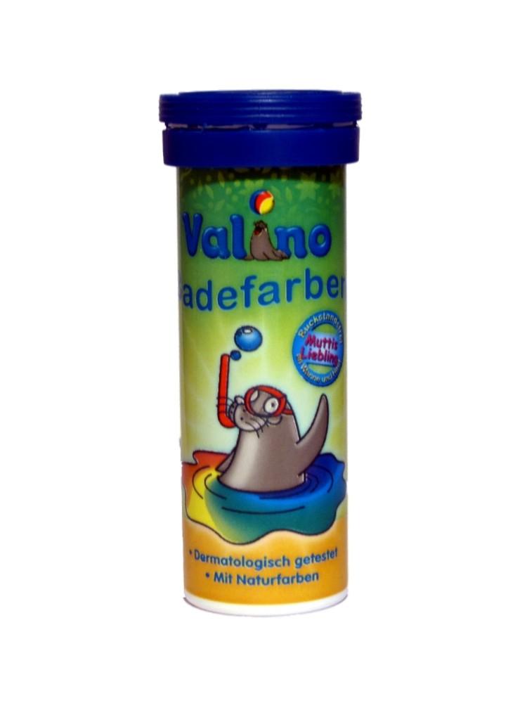 Valino Badefarben Tabletten BLAU 10er (