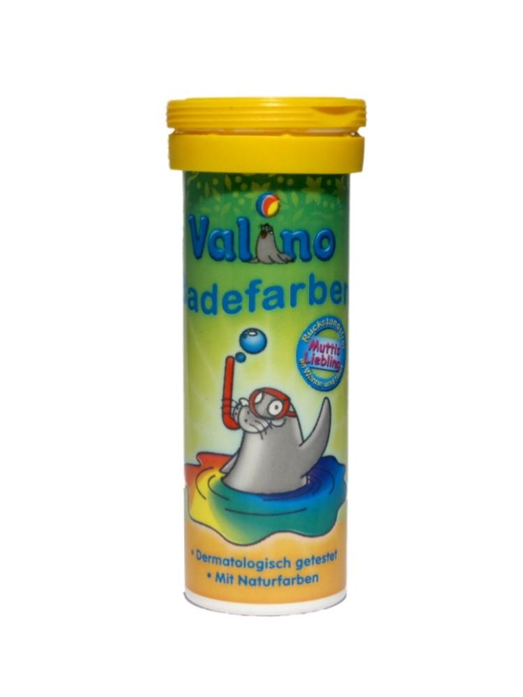 Valino Badefarben Tabletten GELB 10er