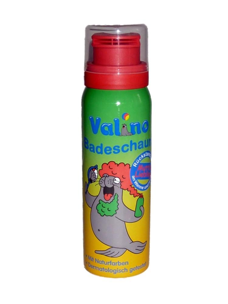 Valino Badeschaum ROT badespaß kinder