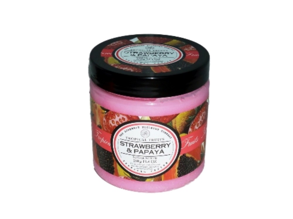 Luxus Zuckerpeeling Strawberry & Papaya