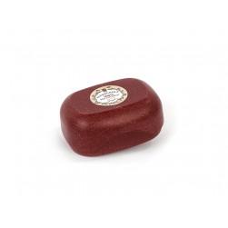 Seifendose goß aus Flüssigholz bordeaux rot