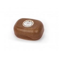 Seifendose groß aus Flüssigholz braun