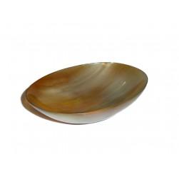 NEU Hornschale Seifenschale oval