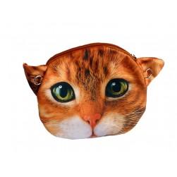 Tasche Kätzchen CAT Comic orange