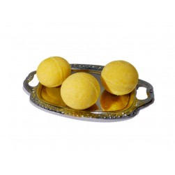kinder-badekugel-gelb-Badekugel für Kinder GELB-badebombe-badefizzer