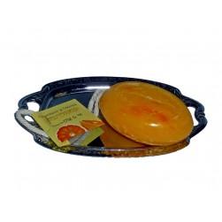 Kordelseife mit Sheabutter Grapefruit & Orange