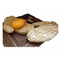 Massage & Peeling Handschuh Sisal