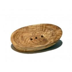 Olivenholz Seifenschale oval MITTEL 125x75