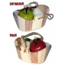 Zankapfel & Versöhnungsbirne im Zuber zur Auswahl