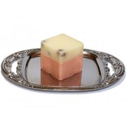 bade-petit-fours-erdbeere und rhabarber --badetoertchen-badezusatz-einseifer