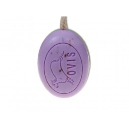 Ovis Schafmilch Duschkordel Lavendel