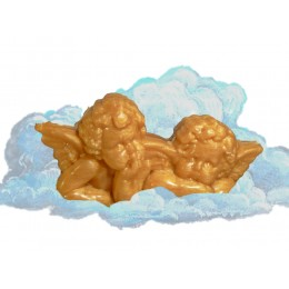 "Engelpaar "" Raphael "" Wiener Duft gold"