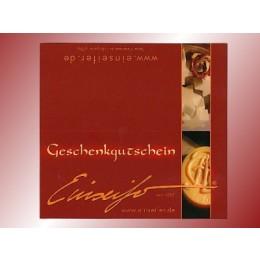 GESCHENK - GUTSCHEIN 15 €