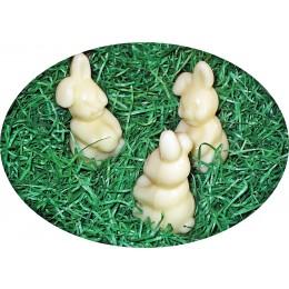 süßes Hasen - Trio Schafmilchseife Wiesenduft klein