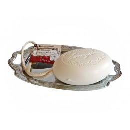 Kordelseife mit Sheabutter Stutenmilch