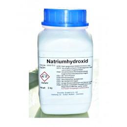 Natriumhydroxid Ätznatron 2kg - Seifenherstellung - Reiniger - Abbeitzer NaOH