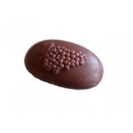 Schafmilchseife Weintraube oval