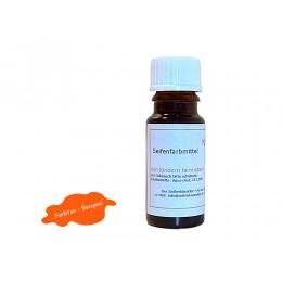 Flüssigfarbe Orange Seifenfarbe