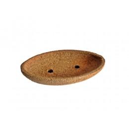 NEU Seifenschale aus Kork oval mittel