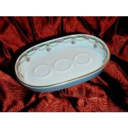 Seifenschale Porzellan LIMES Ring 8601