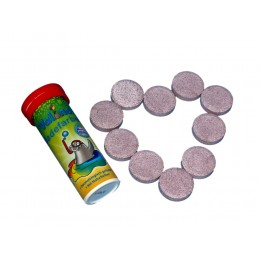 Valino Badefarben Tabletten ROT 10er