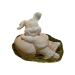 EinSeifer Osterhase Seifenfigur