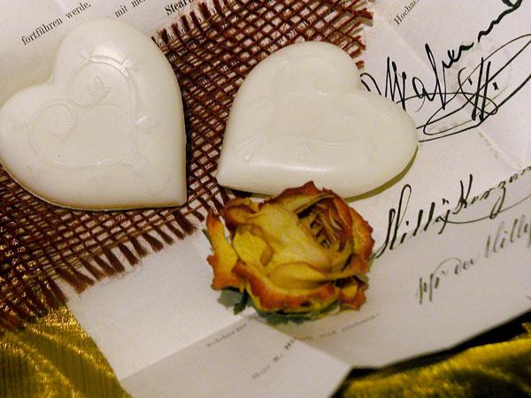 Herzen mit Wiener Duft