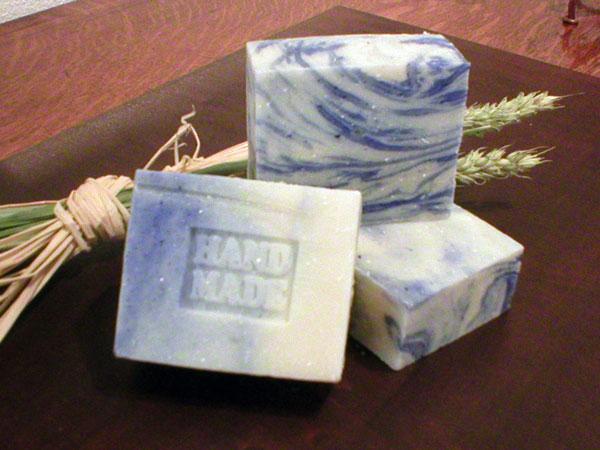 handgesiedete meißner Porzellanseife